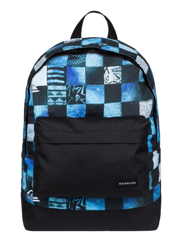 0 Everyday Poster - Medium Backpack Blue EQYBP03277 Quiksilver