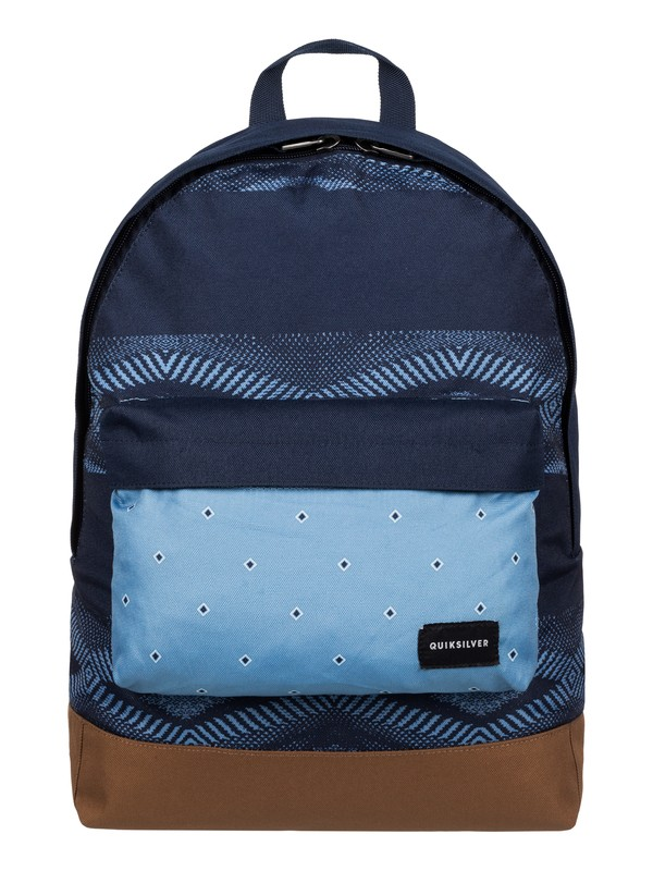 0 Everyday Poster - Medium Backpack Blue EQYBP03277 Quiksilver