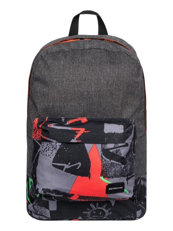 0 Night Track Print - Medium Backpack Green EQYBP03278 Quiksilver