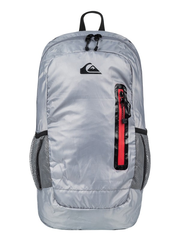 0 Men's Octo 22L Packable Backpack Grey EQYBP03416 Quiksilver