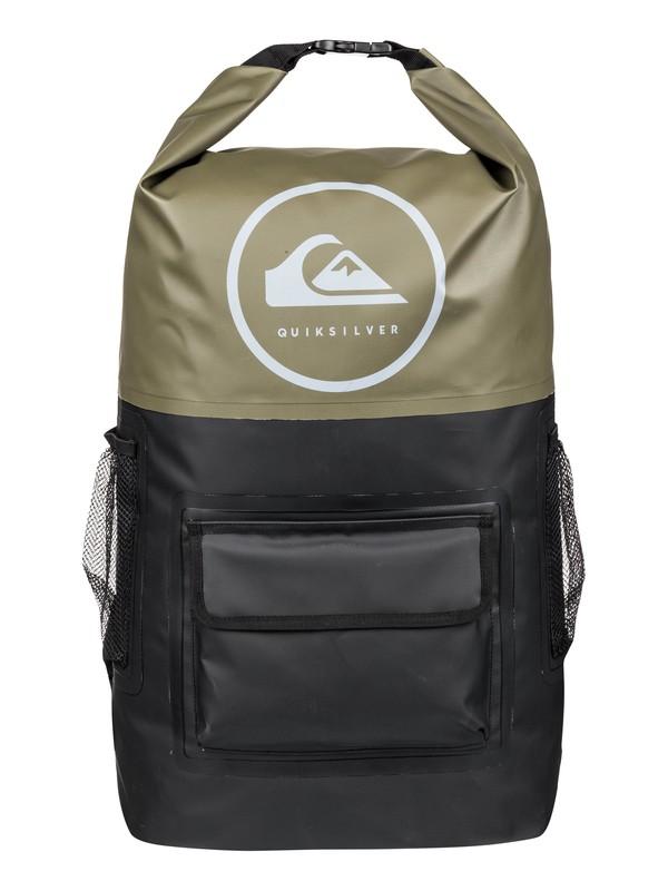 0 Sea Stash 35L - Large Surf Backpack Brown EQYBP03467 Quiksilver