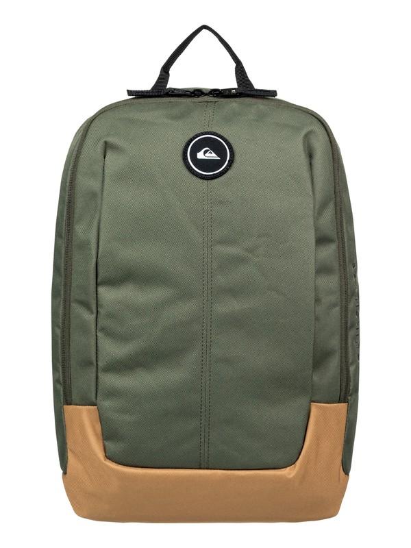 0 Small Upshot 18L Medium Backpack Brown EQYBP03489 Quiksilver