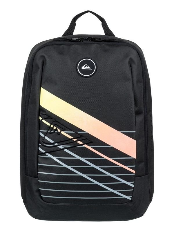 0 Small Upshot 18L Medium Backpack Black EQYBP03489 Quiksilver