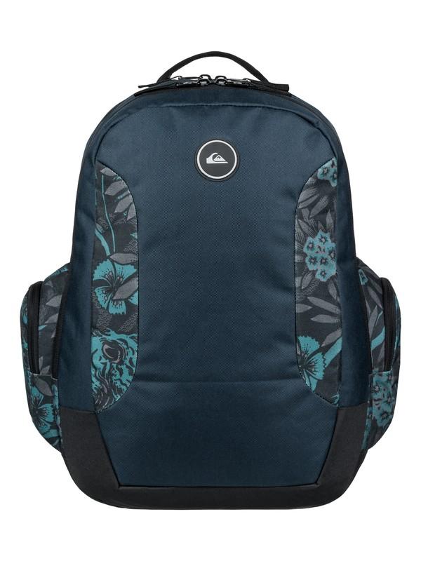 0 Schoolie 30L - Großer Rucksack Blau EQYBP03498 Quiksilver