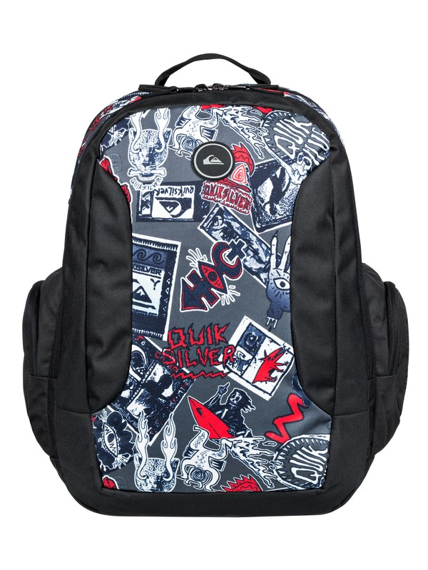 0 Schoolie 30L - Large Backpack Black EQYBP03498 Quiksilver