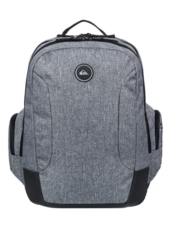 0 Schoolie 30L Large Backpack Grey EQYBP03498 Quiksilver