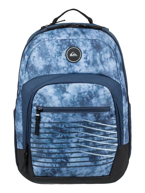0 Men's Schoolie Cooler 25L Medium Backpack Blue EQYBP03499 Quiksilver