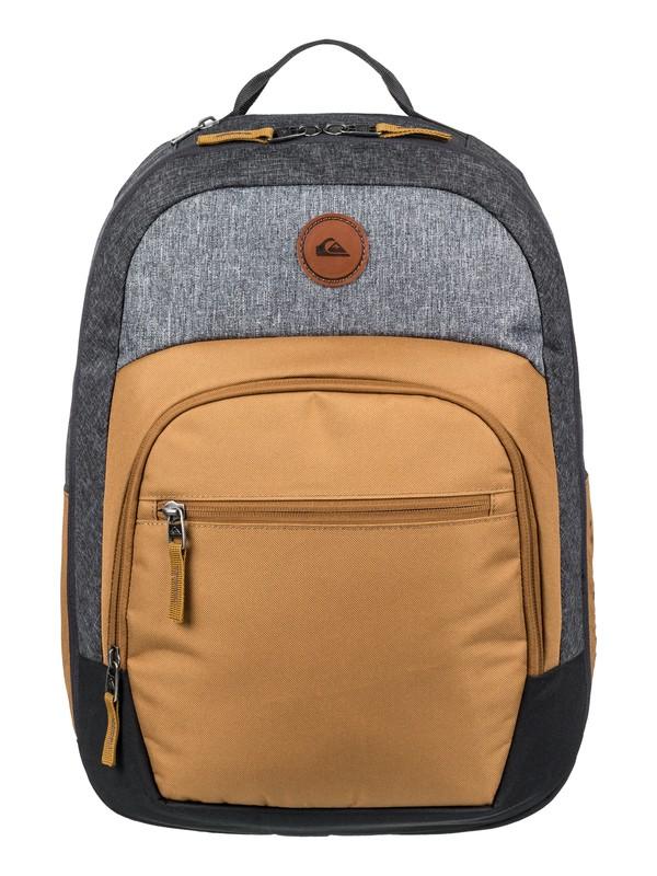 0 Schoolie Cooler 25L Medium Backpack Brown EQYBP03499 Quiksilver