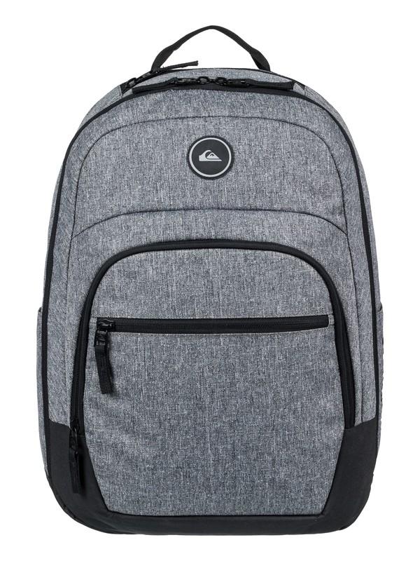 0 Schoolie Cooler 25L Medium Backpack Grey EQYBP03499 Quiksilver