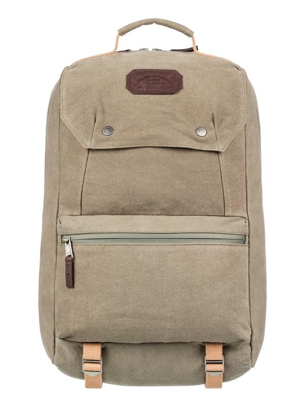 0 Premium 28L Large Canvas Backpack Brown EQYBP03527 Quiksilver