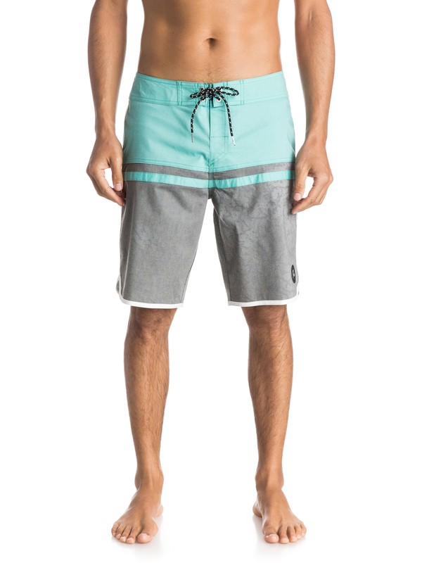 "0 Stomp Paradise Scallop 20"" Boardshorts  EQYBS03386 Quiksilver"
