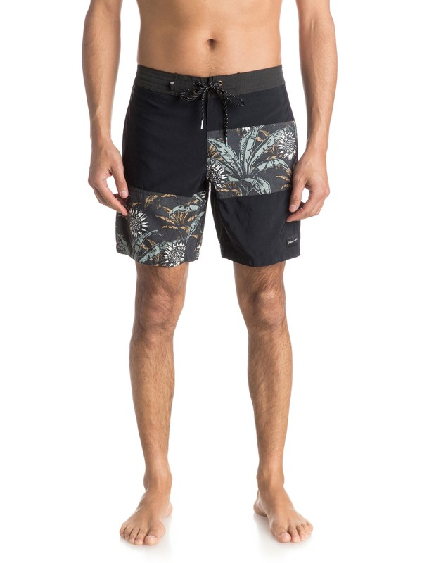 "0 Palm Dog Vee 18"" Boardshorts  EQYBS03443 Quiksilver"