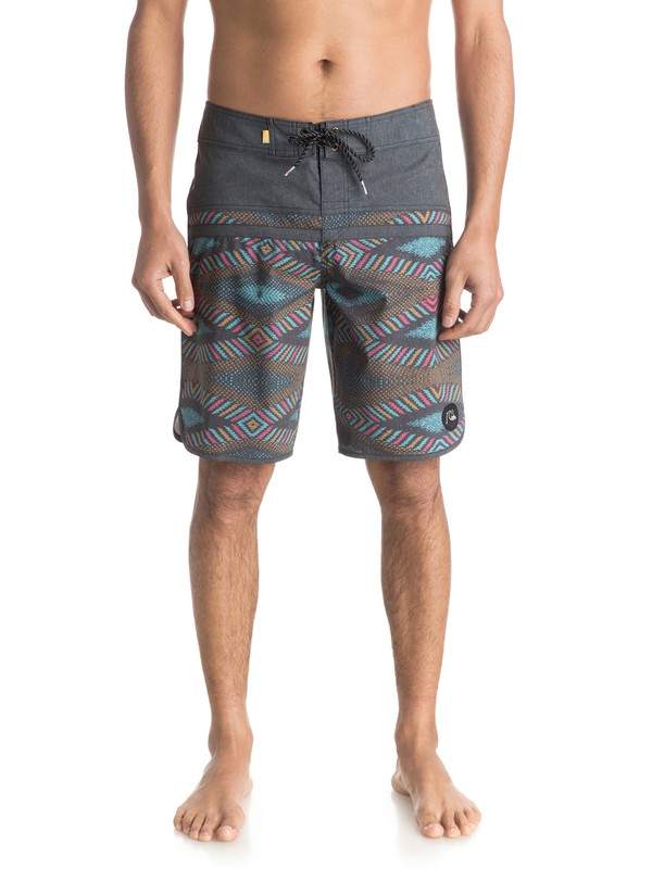"0 Stomp Dreamweaver Scallop 20"" Boardshorts  EQYBS03482 Quiksilver"