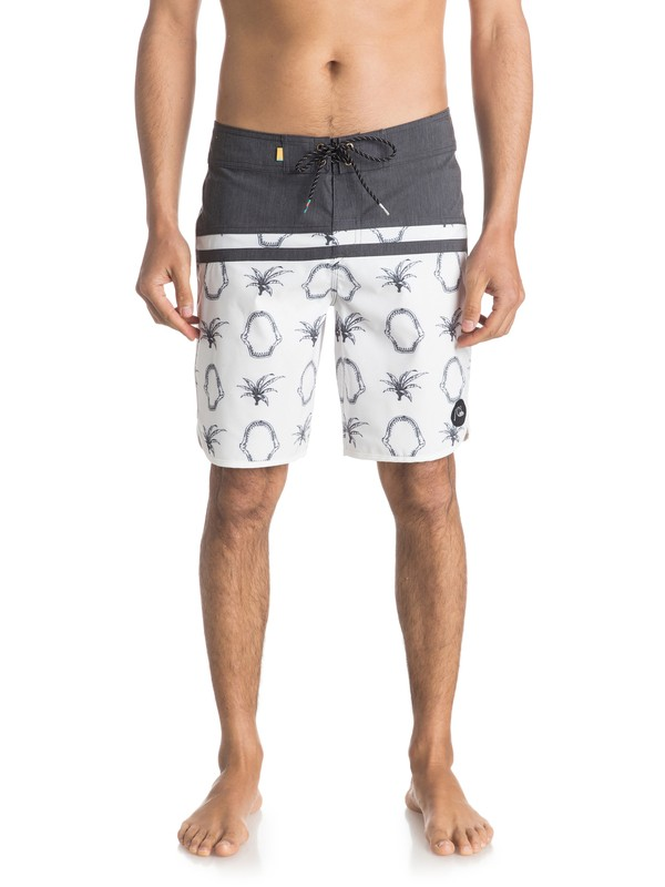 "0 Stomp Mix Scallop 19"" Boardshorts  EQYBS03560 Quiksilver"
