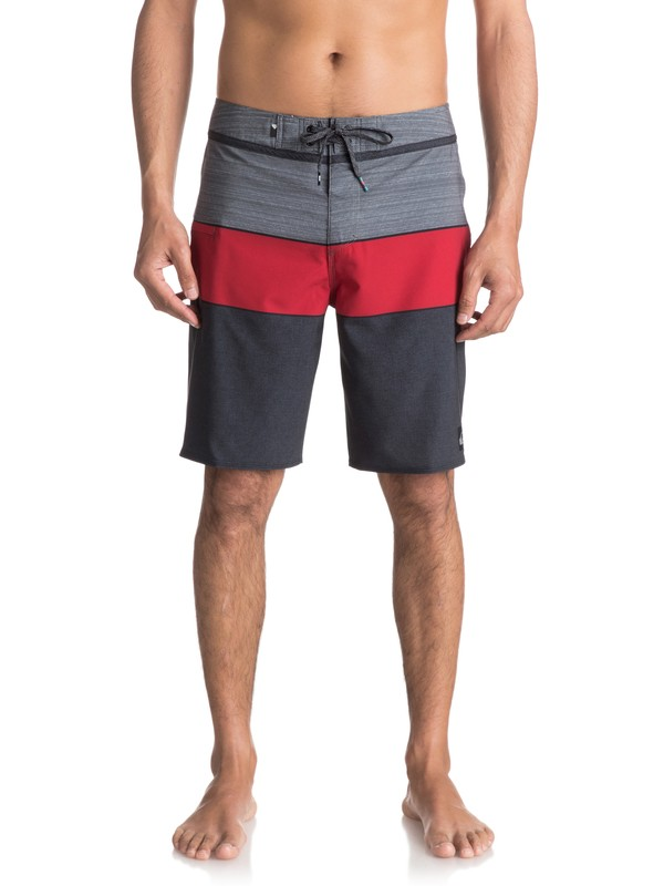 "0 Everyday Blocked Vee 20"" Boardshorts Black EQYBS03573 Quiksilver"