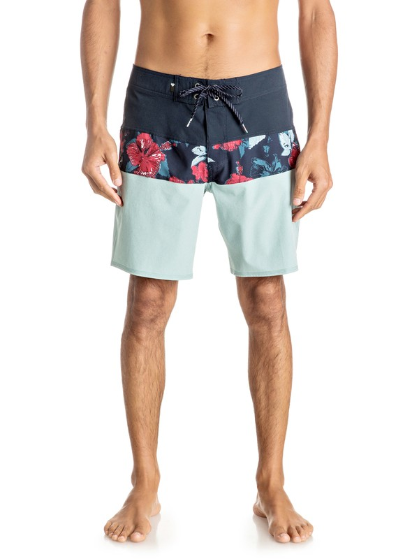 "0 Panel Blocked Vee 19"" Boardshorts  EQYBS03632 Quiksilver"