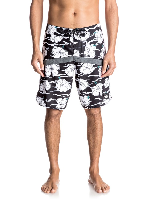 "0 Crypt Scallop 20"" Boardshorts  EQYBS03674 Quiksilver"