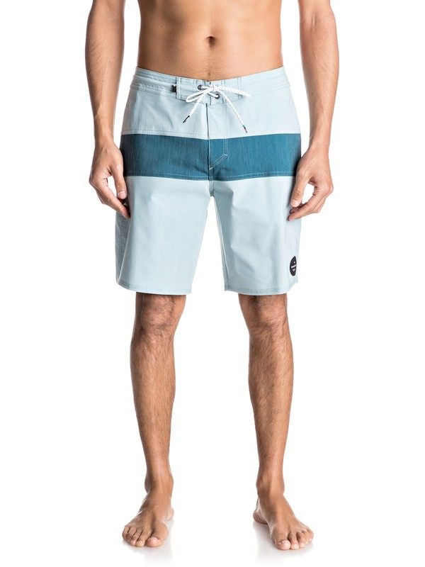 "0 Panel Blocked 19"" Beachshorts  EQYBS03694 Quiksilver"
