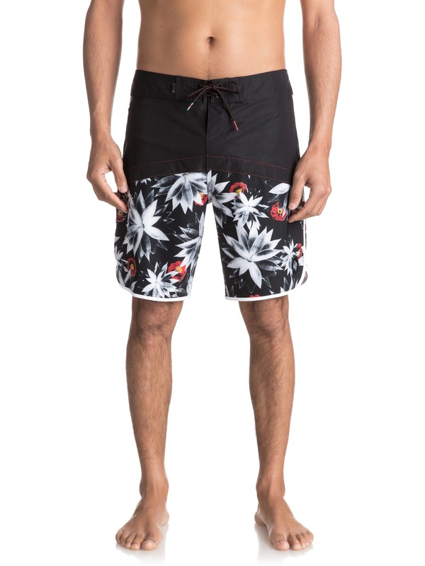 "0 Crypt Scallop 20"" Boardshorts  EQYBS03744 Quiksilver"