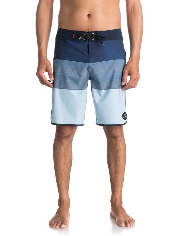 "0 Tijuana Scallop 20"" Boardshorts Blue EQYBS03756 Quiksilver"