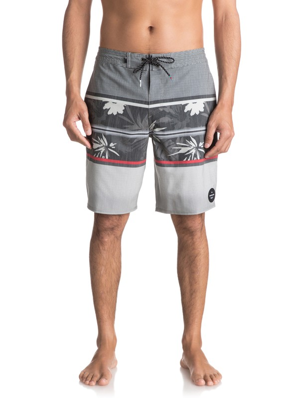 0 SWELL VISION PRINT BEACHSHORT Negro EQYBS03774 Quiksilver