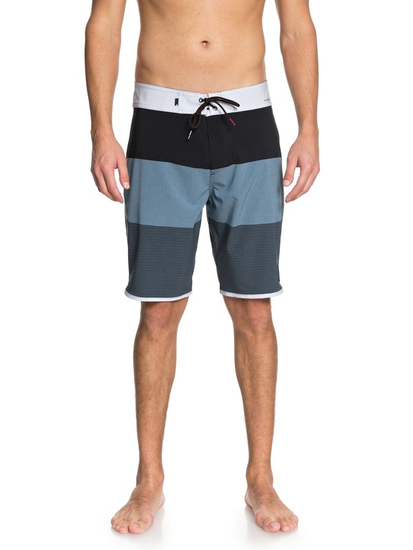 "0 Highline Tijuana Scallop 20"" Boardshorts Blue EQYBS03851 Quiksilver"
