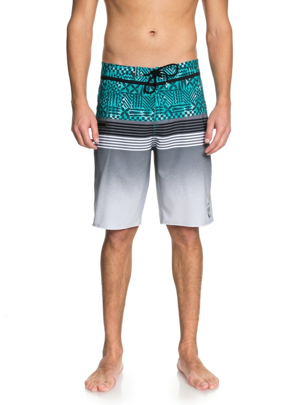 "0 Highline Division Hawaii 21"" - Board Shorts Green EQYBS03853 Quiksilver"