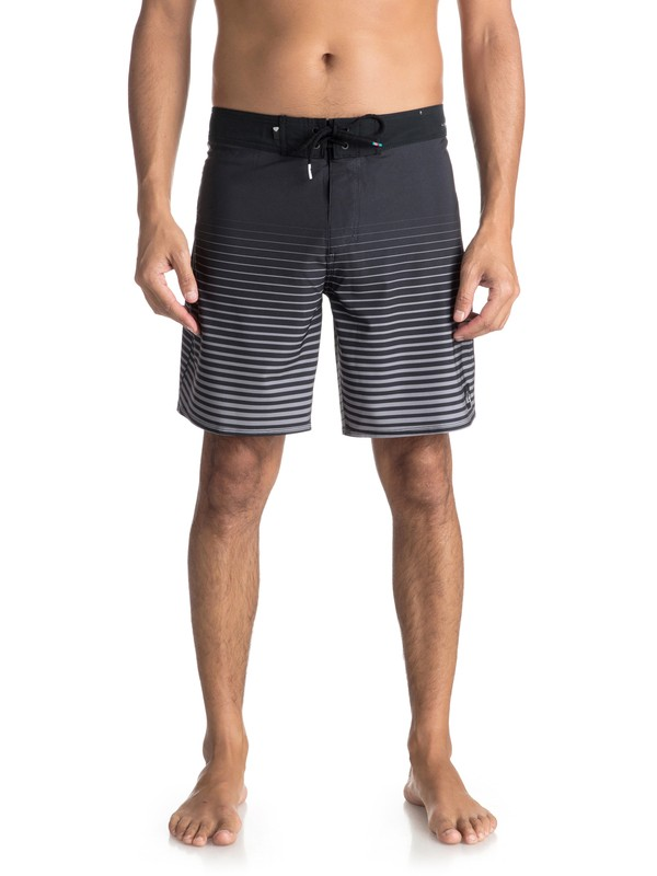 "0 Highline Sound Wave 18"" - Boardshort da Uomo Black EQYBS03856 Quiksilver"