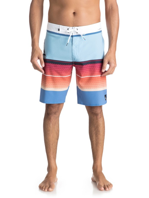 "0 Men's Highline Slab 20"" Boardshorts Blue EQYBS03858 Quiksilver"