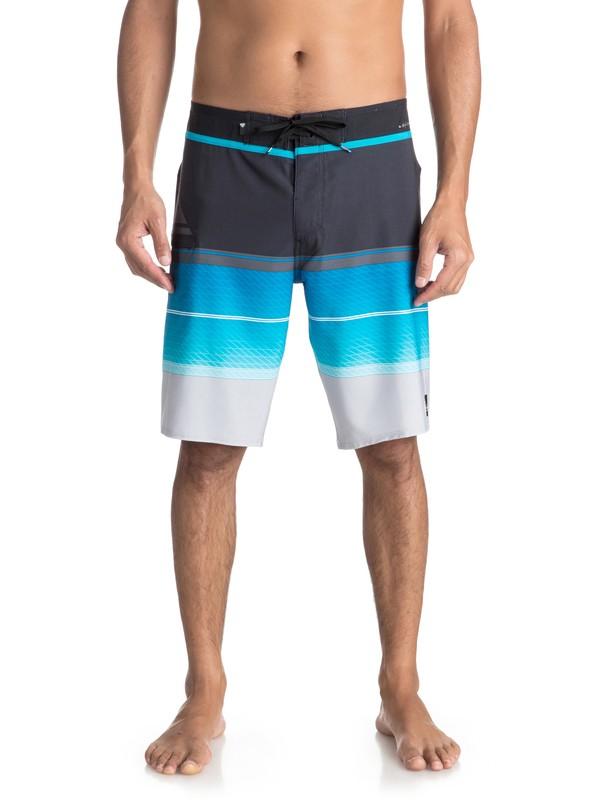 "0 Men's Highline Slab 20"" Boardshorts Blue EQYBS03858 Quiksilver"