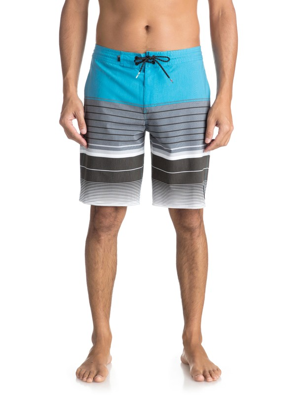 "0 Swell Vision 20"" Volley Beachshorts Blue EQYBS03866 Quiksilver"