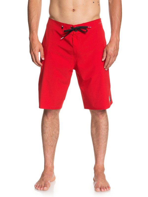"0 Highline Kaimana 21"" Boardshorts Red EQYBS03876 Quiksilver"