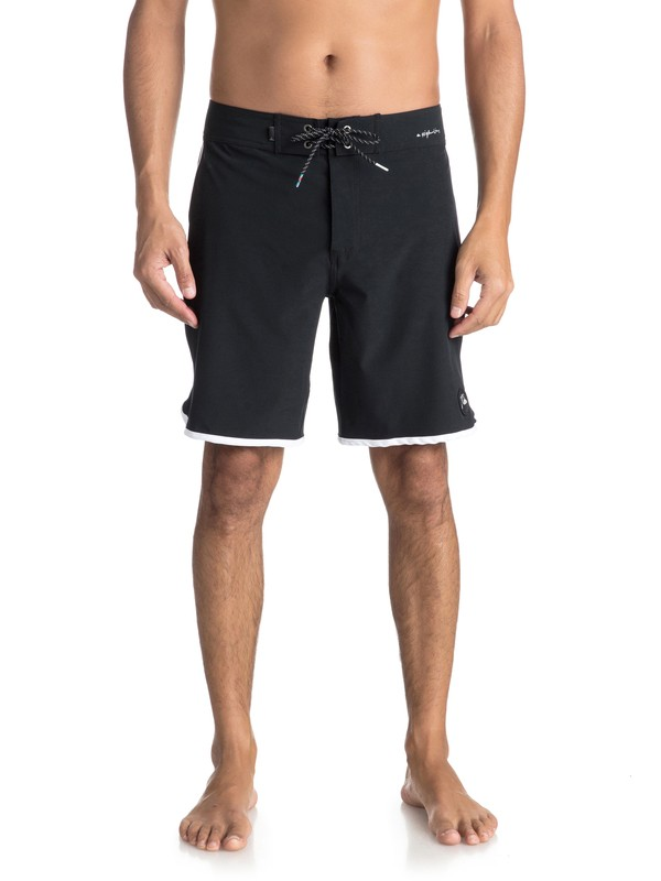 "0 Highline Scallop 19"" - Board Shorts for Men Black EQYBS03885 Quiksilver"