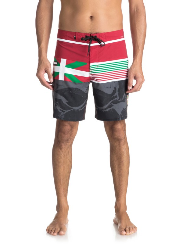 "0 Highline Local 19"" - Board Shorts Red EQYBS03890 Quiksilver"