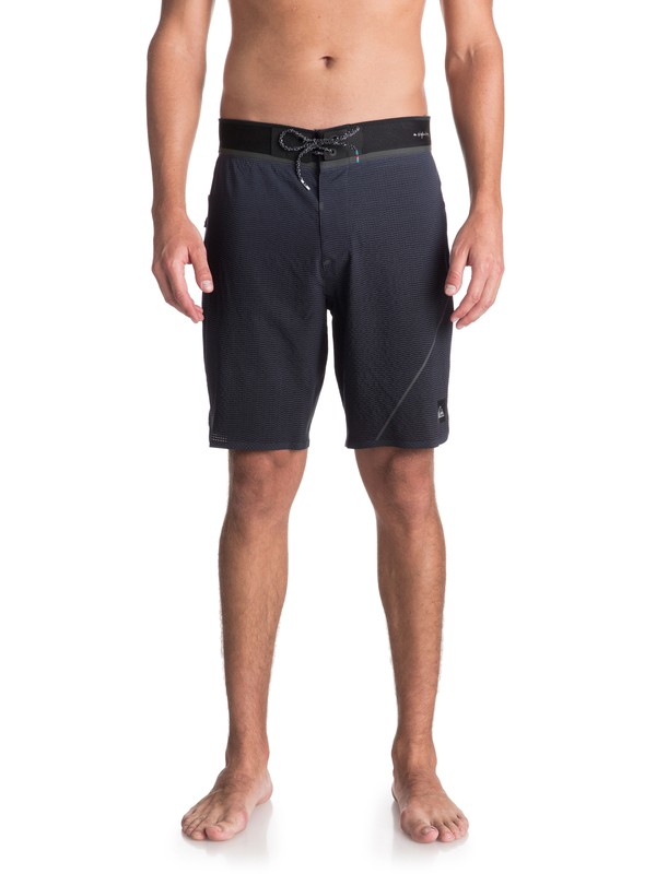 "0 Highline New Wave Pro 19"" - Board Shorts Blue EQYBS03891 Quiksilver"