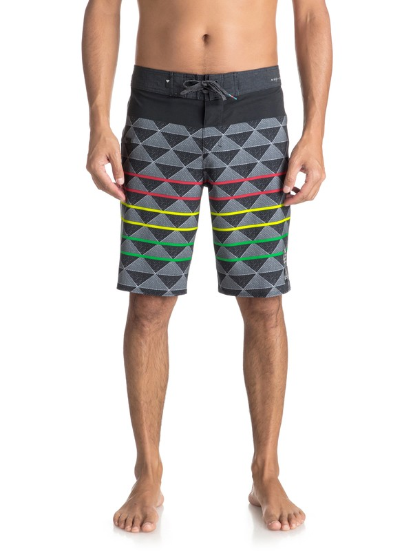 "0 Highline Poke Bowl 20"" Boardshorts Black EQYBS03892 Quiksilver"
