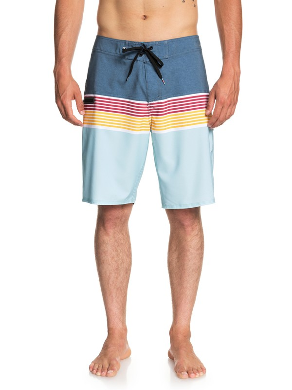 "0 Highline Division 20"" Boardshorts Blue EQYBS03893 Quiksilver"