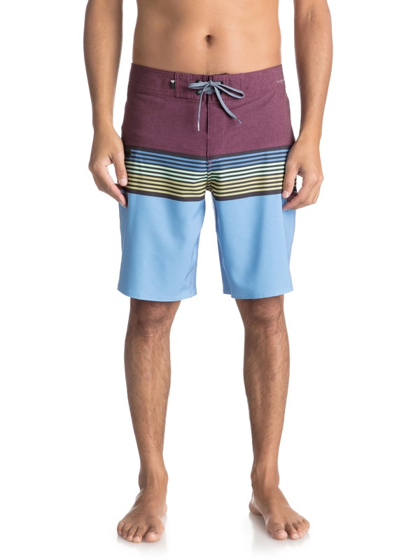 "0 Highline Division 20"" Boardshorts Red EQYBS03893 Quiksilver"