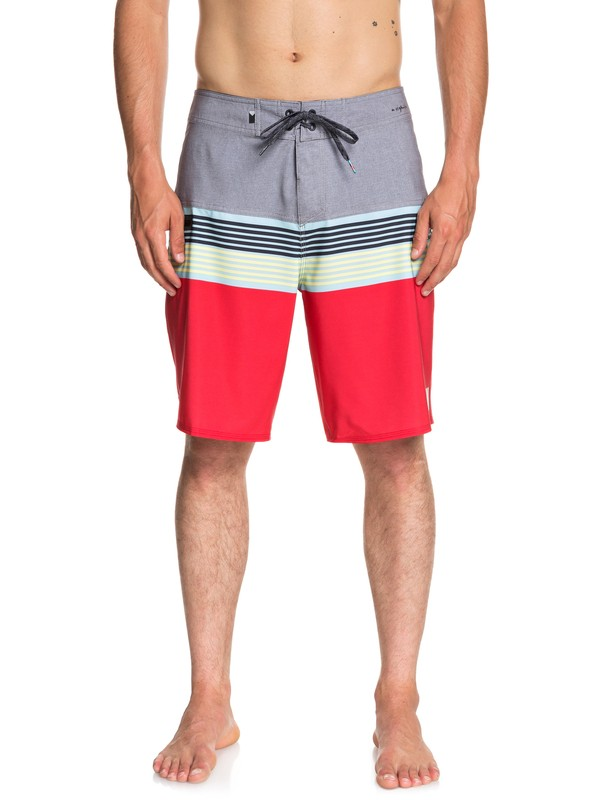 "0 Highline Division 20"" Boardshorts Grey EQYBS03893 Quiksilver"
