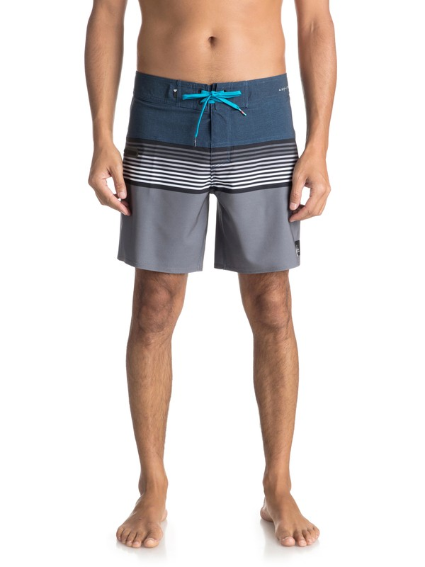 "0 Highline Division 17"" - Boardshort Blue EQYBS03894 Quiksilver"