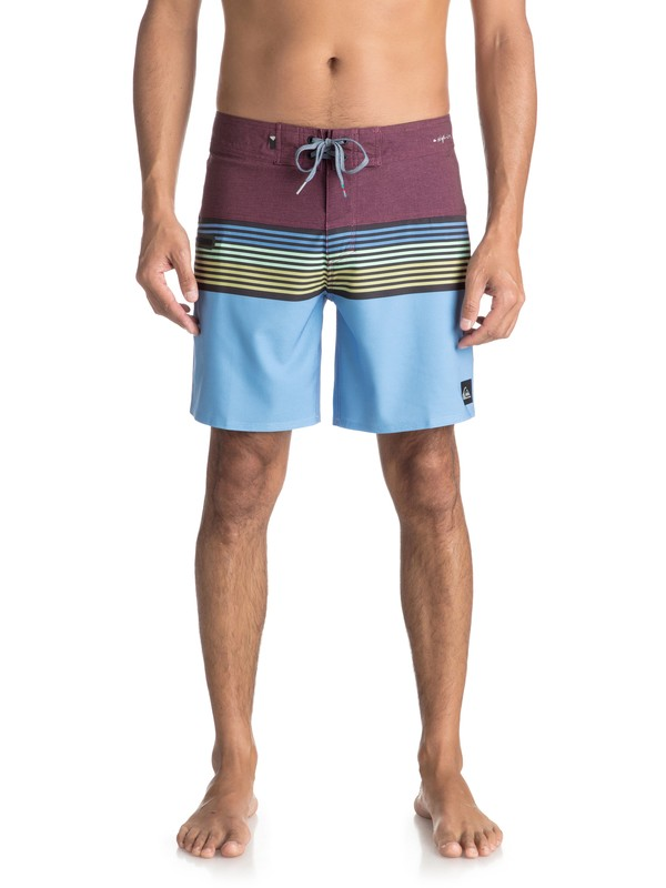 "0 Highline Division 17"" - Boardshort Red EQYBS03894 Quiksilver"