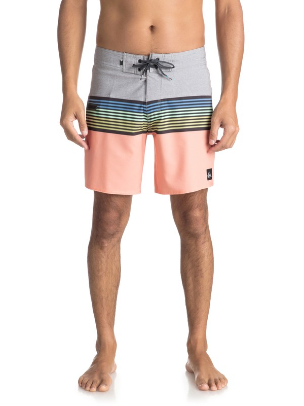 "0 Highline Division 17"" - Boardshort Gray EQYBS03894 Quiksilver"