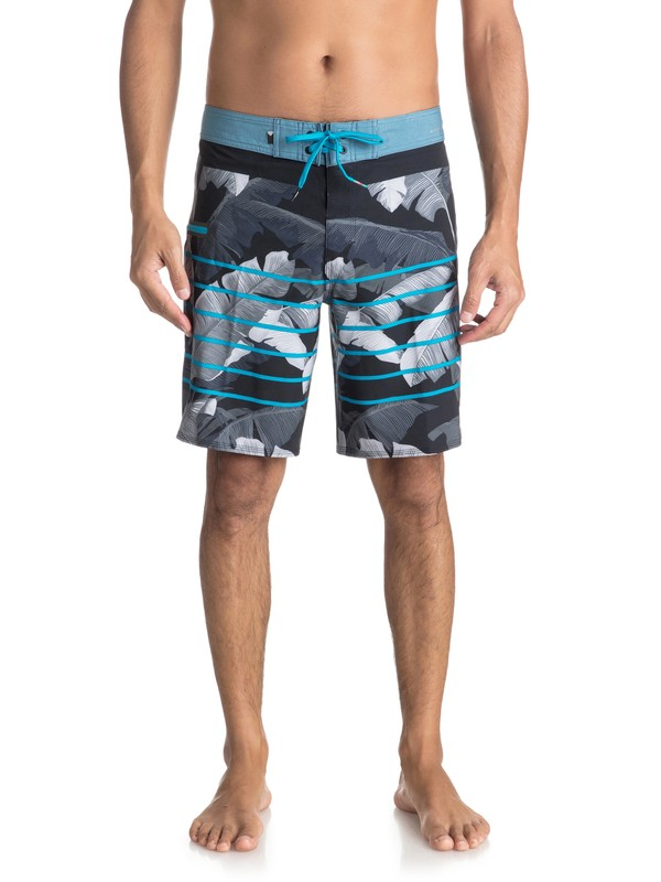 "0 Highline Island Time 19"" - Board Shorts for Men Black EQYBS03897 Quiksilver"