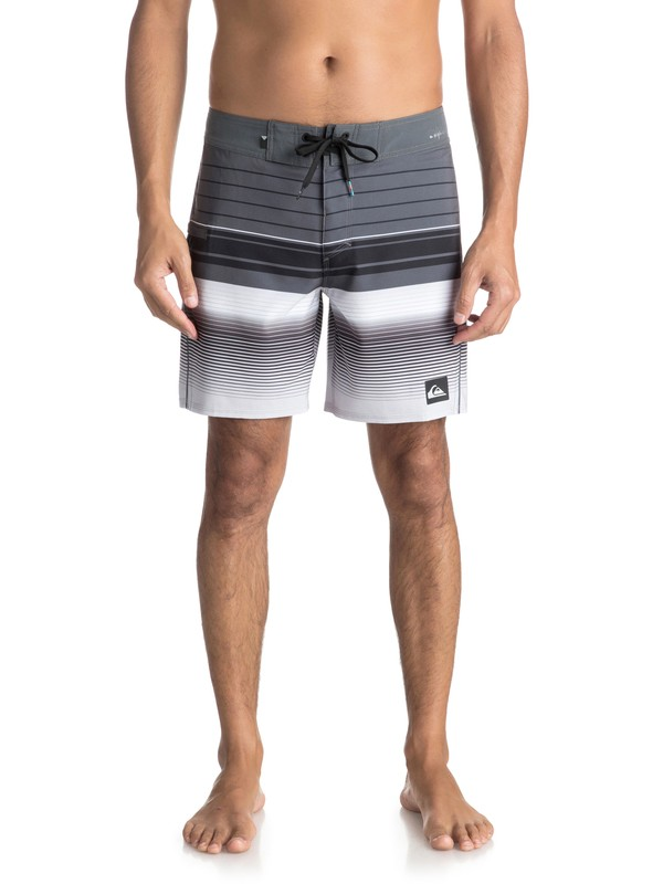 "0 Highline Swell Vision 17"" - Boardshort Black EQYBS03899 Quiksilver"