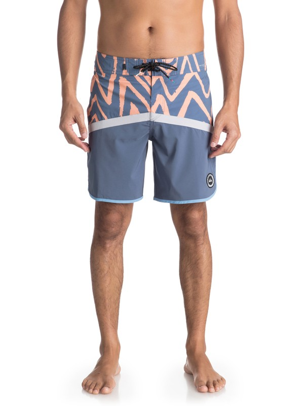 "0 Highline Techtonics 18"" - Board Shorts for Men Grey EQYBS03900 Quiksilver"
