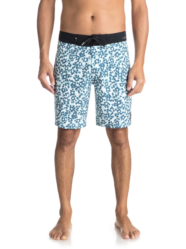 """0 Highline Variable 19"""" Boardshorts Blue EQYBS03906 Quiksilver"""