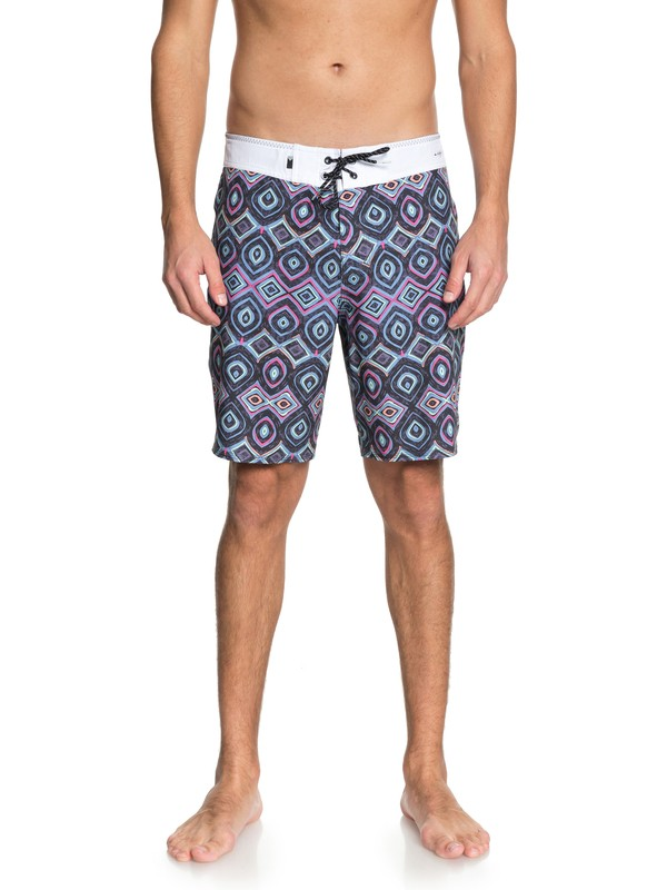 "0 Highline Variable 19"" Boardshorts Black EQYBS03906 Quiksilver"