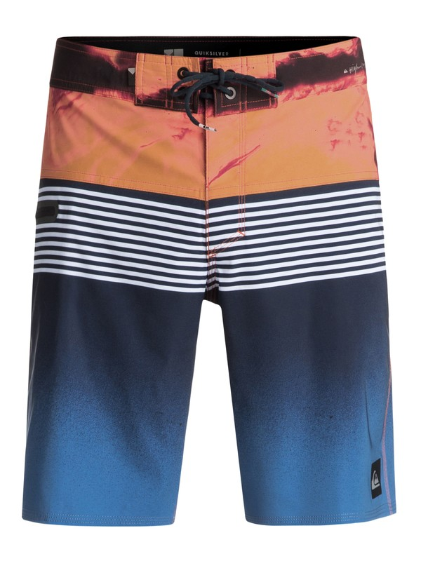 "0 Highline Lava Division 19"" - Board Shorts Blue EQYBS03916 Quiksilver"