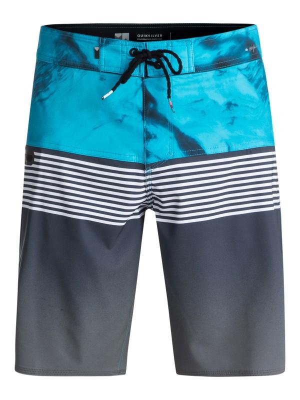 "0 Highline Lava Division 19"" - Board Shorts Black EQYBS03916 Quiksilver"
