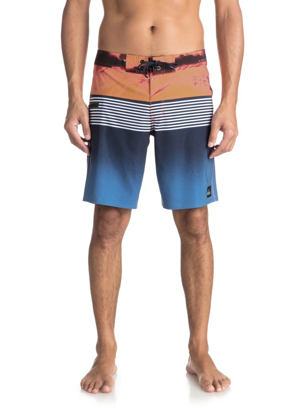 "0 Highline Lava Division 19"" - Board Shorts for Men Blue EQYBS03916 Quiksilver"